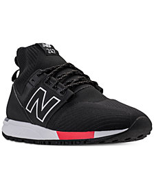 New Balance Men's 247 Mid Casual Sneakers from Finish Line