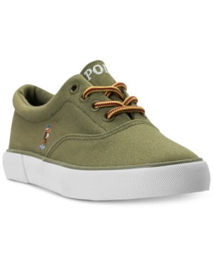 Polo Ralph Lauren Little Boys Forestmont Casual Sneakers from Finish Line
