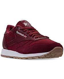 Reebok Men's Classic Leather ESTL Casual Sneakers from Finish Line