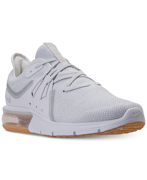 on sale 3f45a 9eaef ... Nike Men s Air Max Sequent 3 Running Sneakers from Finish ...