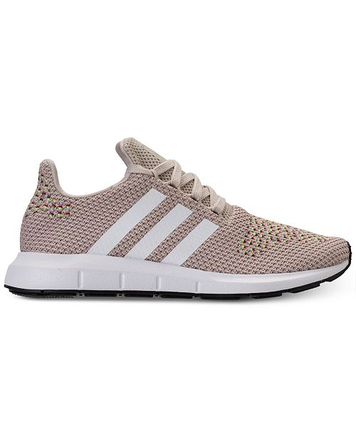12f4f183ce45 adidas Women s Swift Run Casual Sneakers from Finish Line   Reviews ...