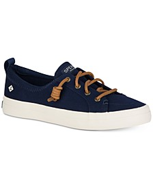 Women's Crest Vibe Memory-Foam Lace-Up Fashion Sneakers