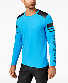 I.N.C. Men's Graphic Print Lightning T-Shirt, Created for Macy's
