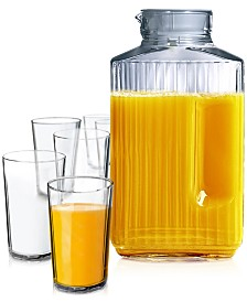 Luminarc Juice 7-Pc. Glassware Set