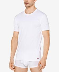 Men's Performance Cotton Crew-Neck Undershirts, 3-Pack