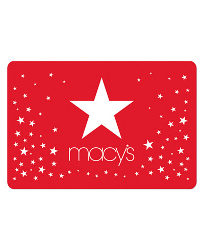 Stars Gift Card with Greeting Card