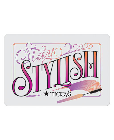 Stylish Gift Card with Greeting Card
