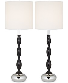 Pacific Coast Set of 2 Ames Table Lamp
