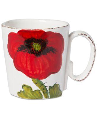 Lastra Poppy Collection Mug