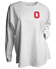J America Women's Ohio State Buckeyes Gameday Jersey Long Sleeve T-Shirt