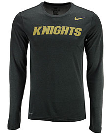 Nike Men's University of Central Florida Knights Dri-FIT Legend Wordmark Long Sleeve T-Shirt
