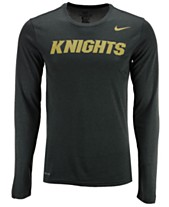 3cfad5570 Nike Men's University of Central Florida Knights Dri-FIT Legend Wordmark  Long Sleeve T-