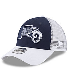 New Era Boys' Los Angeles Rams Trucker Joy 9FORTY Cap
