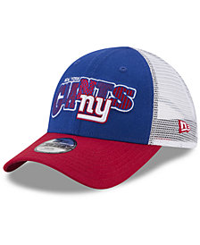 New Era Boys' New York Giants Trucker Joy 9FORTY Cap