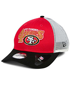 New Era Boys' San Francisco 49ers Trucker Joy 9FORTY Cap