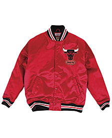 Mitchell & Ness Men's Chicago Bulls Satin Jacket