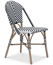 Dalien Outdoor Dining Chair (Set Of 2), Quick Ship