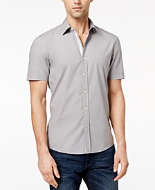 마이클 코어스 맨 셔츠 Michael Kors Mens Solid Stretch Shirt