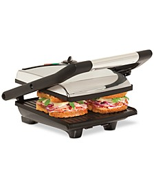 Stainless Steel Non-Stick Panini Press Sandwich Maker