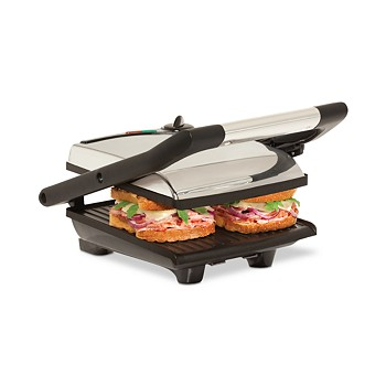 Bella Stainless Steel Non-Stick Panini Press Sandwich Maker