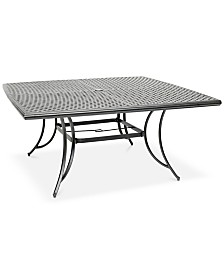 "64"" x 64"" Outdoor Dining Table (Grove Hill II, Vintage II & Glenwood), Created For Macy's"