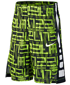 Nike Dri-FIT Elite Basketball Shorts, Big Boys