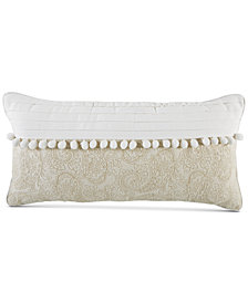 "Croscill Cela 11"" x 22"" Boudoir Decorative Pillow"