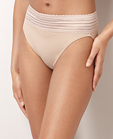 Warner's No Pinching No Problems Lace Hi-Cut Brief 5109