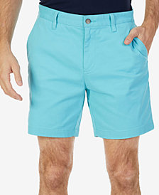 "Nautica Men's Stretch Flat Front 6"" Shorts"
