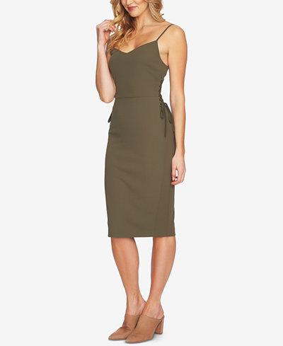 1.STATE Side-Tie Slip Dress