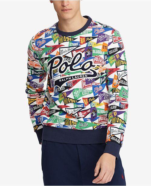 4807d8ca962d Polo Ralph Lauren Men s Pennant Sweatshirt
