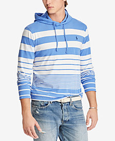 Polo Ralph Lauren Men's Striped Hooded T-Shirt