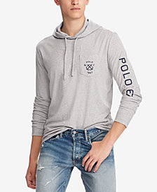 Polo Ralph Lauren Men's Big & Tall Classic-Fit Hooded T-Shirt