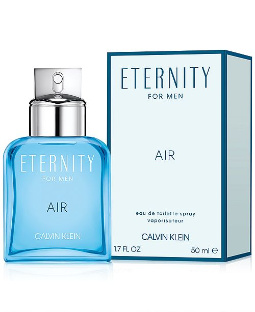 0cb6b286a05 Calvin Klein Men's Eternity Air For Men Eau de Toilette Spray, 1.7 ...