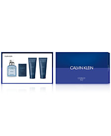 Calvin Klein Men's 4-Pc. Eternity Aqua Gift Set