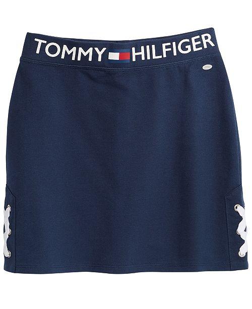 Tommy Hilfiger Lace-Up Skirt, Big Girls