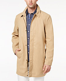 Ryan Seacrest Distinction™ Men's Slim-Fit Tan Trench Coat, Created for Macy's