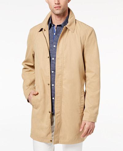 Ryan Seacrest Distinction™ Men's Slim-Fit Tan Trench Coat, Created for Macy's