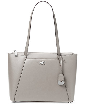 2ac6b9c8bc0f Michael Kors Maddie Crossgrain Leather Tote   Reviews - Handbags    Accessories - Macy s
