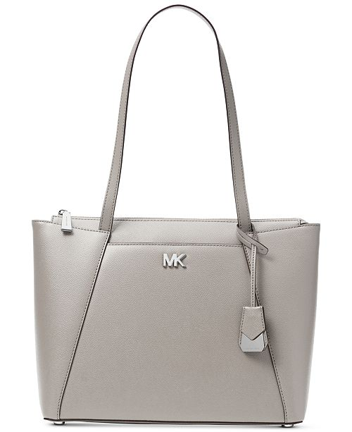 54fdeebf958bf Michael Kors Maddie Crossgrain Leather Tote   Reviews - Handbags ...