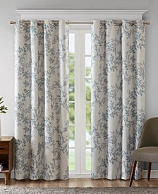 Julie Botanical-Print Blackout Curtain Collection