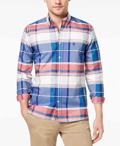 Brooks Brothers Red Fleece Men's Plaid Supima Cotton Oxford Shirt