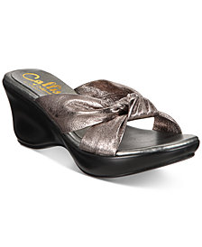 Callisto Knoxx Wedge Sandals, Created for Macy's