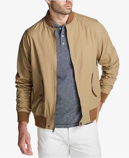 3f20305a7 Weatherproof Vintage Men's Full-Zip Bomber Jacket, Created for ...