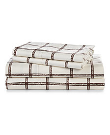Lauren Ralph Lauren Dorian 4-Pc. King Sheet Set
