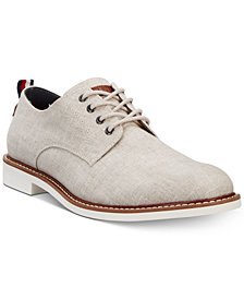 Tommy Hilfiger Men's Garson3 Linen Oxfords