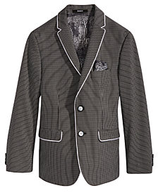 DKNY Gingham Sport Coat, Big Boys
