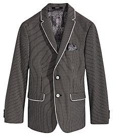 DKNY Gingham Sport Coat, Big Boys