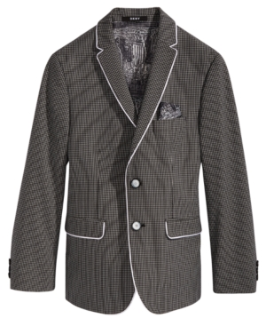 Dkny Gingham Sport Coat,...