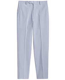 Lauren Ralph Lauren Seersucker Suit Pants, Big Boys
